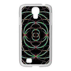 Abstract Spider Web Samsung Galaxy S4 I9500/ I9505 Case (white) by BangZart