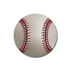 Baseball Rubber Coaster (round)  by BangZart