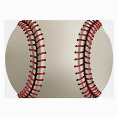 Baseball Large Glasses Cloth by BangZart