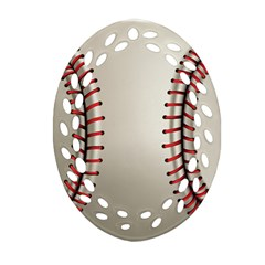 Baseball Ornament (oval Filigree) by BangZart