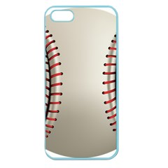 Baseball Apple Seamless Iphone 5 Case (color) by BangZart