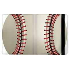 Baseball Apple Ipad 2 Flip Case by BangZart