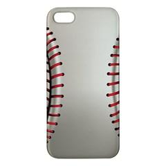Baseball Iphone 5s/ Se Premium Hardshell Case by BangZart