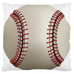 Baseball Standard Flano Cushion Case (one Side) by BangZart