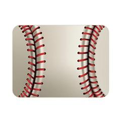 Baseball Double Sided Flano Blanket (mini)  by BangZart