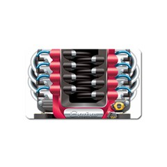 Car Engine Magnet (name Card) by BangZart