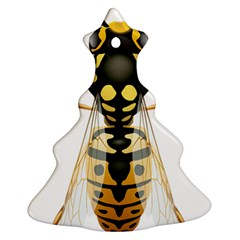 Wasp Christmas Tree Ornament (two Sides) by BangZart