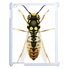 Wasp Apple Ipad 2 Case (white) by BangZart