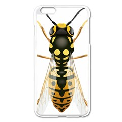 Wasp Apple Iphone 6 Plus/6s Plus Enamel White Case by BangZart