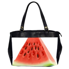 Piece Of Watermelon Office Handbags (2 Sides)  by BangZart