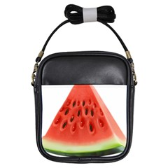 Piece Of Watermelon Girls Sling Bags by BangZart
