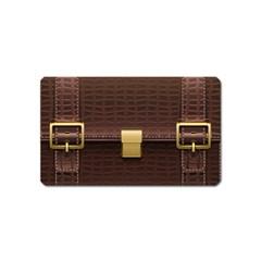 Brown Bag Magnet (name Card) by BangZart
