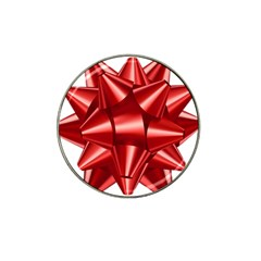 Red Bow Hat Clip Ball Marker (4 Pack) by BangZart
