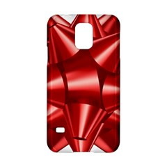 Red Bow Samsung Galaxy S5 Hardshell Case  by BangZart