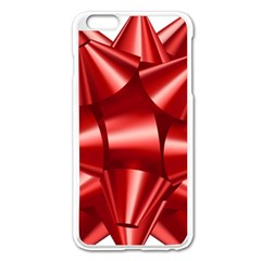 Red Bow Apple Iphone 6 Plus/6s Plus Enamel White Case by BangZart