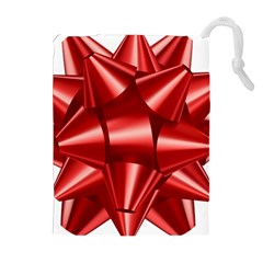 Red Bow Drawstring Pouches (extra Large) by BangZart