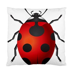 Ladybug Insects Standard Cushion Case (two Sides) by BangZart