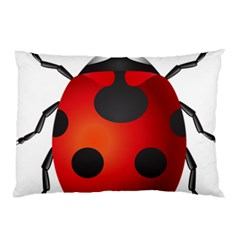 Ladybug Insects Pillow Case by BangZart