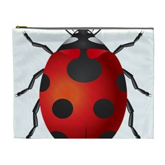 Ladybug Insects Cosmetic Bag (xl) by BangZart