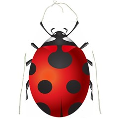 Ladybug Insects Full Print Aprons by BangZart