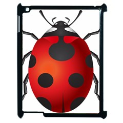 Ladybug Insects Apple Ipad 2 Case (black) by BangZart