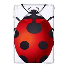 Ladybug Insects Apple Ipad Mini Hardshell Case (compatible With Smart Cover) by BangZart