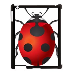 Ladybug Insects Apple Ipad 3/4 Case (black) by BangZart