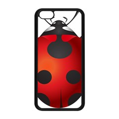 Ladybug Insects Apple Iphone 5c Seamless Case (black) by BangZart