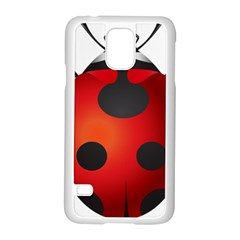 Ladybug Insects Samsung Galaxy S5 Case (white) by BangZart