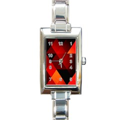 Abstract Triangle Wallpaper Rectangle Italian Charm Watch by BangZart