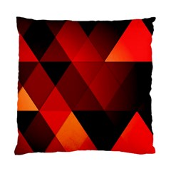 Abstract Triangle Wallpaper Standard Cushion Case (one Side) by BangZart