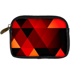Abstract Triangle Wallpaper Digital Camera Cases by BangZart