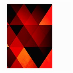 Abstract Triangle Wallpaper Large Garden Flag (two Sides) by BangZart