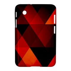 Abstract Triangle Wallpaper Samsung Galaxy Tab 2 (7 ) P3100 Hardshell Case  by BangZart