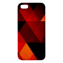 Abstract Triangle Wallpaper Iphone 5s/ Se Premium Hardshell Case by BangZart