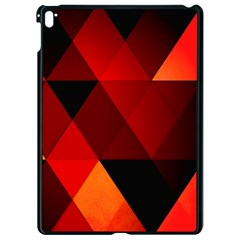 Abstract Triangle Wallpaper Apple Ipad Pro 9 7   Black Seamless Case by BangZart