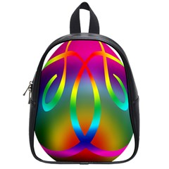 Colorful Easter Egg School Bags (small)  by BangZart