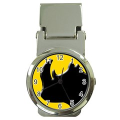 Black Rhino Logo Money Clip Watches by BangZart