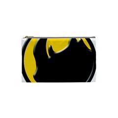 Black Rhino Logo Cosmetic Bag (small)  by BangZart