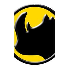 Black Rhino Logo Shower Curtain 48  X 72  (small)  by BangZart