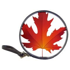 Autumn Maple Leaf Clip Art Classic 20 Cd Wallets by BangZart