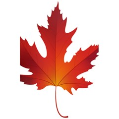 Autumn Maple Leaf Clip Art 5 5  X 8 5  Notebooks by BangZart