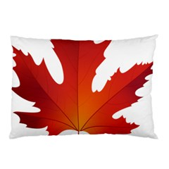 Autumn Maple Leaf Clip Art Pillow Case (two Sides) by BangZart