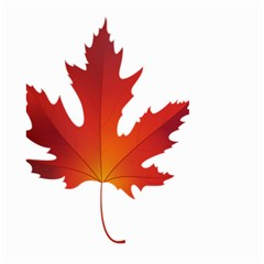 Autumn Maple Leaf Clip Art Large Garden Flag (two Sides) by BangZart