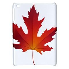 Autumn Maple Leaf Clip Art Apple Ipad Mini Hardshell Case by BangZart