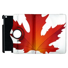 Autumn Maple Leaf Clip Art Apple Ipad 2 Flip 360 Case by BangZart