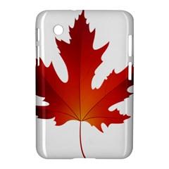 Autumn Maple Leaf Clip Art Samsung Galaxy Tab 2 (7 ) P3100 Hardshell Case  by BangZart