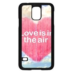 Love Concept Poster Design Samsung Galaxy S5 Case (black) by dflcprints