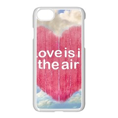 Love Concept Poster Design Apple Iphone 7 Seamless Case (white) by dflcprints