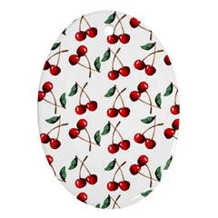 Cherry Red Ornament (oval) by Kathrinlegg